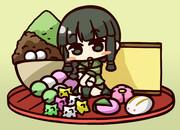 北上さんと和菓子