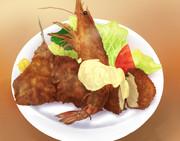 海鮮フライや