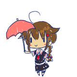 時雨ちゃん進水日アイコン