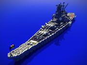 【Minecraft】新造戦艦