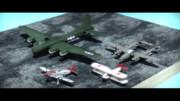 レシプロ機集進捗(1MF/P-38/B-17/P-51)