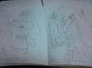 幼稚園ぐらいの頃に描いた絵