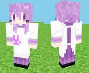【Minecraft】割烹着ゆかりスキン 見本