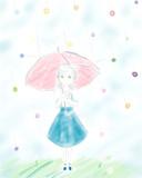 雨と私と飴と