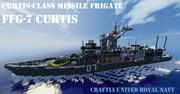 カーティス級ミサイルフリゲート【minecraft軍事部】