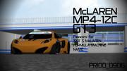 【MMDモデル配布中】マクラーレン MP4-12C GT3