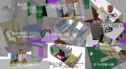 【MMD】六畳一間の荒木荘【ステージ配布】