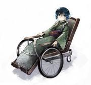 わかさぎ姫の車椅子