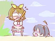 ワンドロお題 夏色えがおで1,2,Jump!