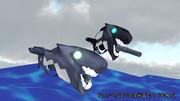 【MMD艦これ】駆逐ロ級後期型 配布します