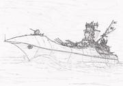 旭日艦隊旗艦日本武尊