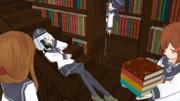 第六駆逐隊in図書室