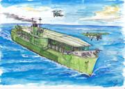 あきつ丸1944(空母改装時)