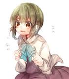 高波ちゃんso cute