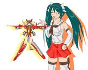 【艦これ】対潜番長とスケバン神姫【武装神姫】