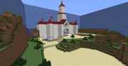 【Minecraft】ピーチ城再現