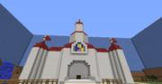【Minecraft】ピーチ城再現2枚目