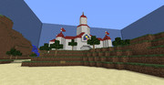 【Minecraft】ピーチ城再現3枚目