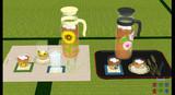 麦茶(お冷)セットv1.01