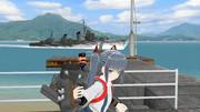 水雷戦隊司令官と旗艦の霞