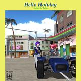 hello holiday【MMDレコードCDジャケットアート選手権】