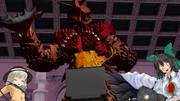 【東方異次元人】ヤプールさんと地霊殿の二人、ウルトラファイトビクトリーを視聴!