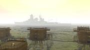 英国の海上要塞と幻影の戦艦金剛
