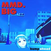 bump ahead【MMDジャケットアート】