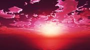 【MMDステージ配布】赤く光る空 BB2【スカイドーム】