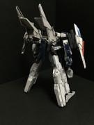 【完成】GNバイザーソードダンサー(合体形態 背面)