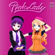 PINK LADY【MMDレコードCDジャケットアート】