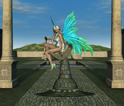 神殿と妖精