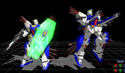 【MMD】双護式ガンダムF90_TypeV