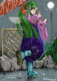 梅雨のフウラさん