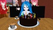 二人分の誕生日祝い【ラト式ミク誕生日】