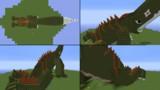 Minecraftで怪獣ギロン いろんな角度から2