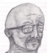[父の日](戦時大日本帝国の)お父さん 鉛筆画 塗り