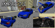 【Minecraft】スバル インプレッサ GDB E型