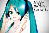 Lat式の誕生日