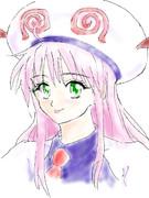 矢吹先生へのファンレターで描いたララ(『To LOVEる ーとらぶるー』より)