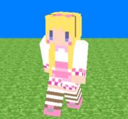アリス(インナーは白スク水)のスキンver1.8~【女の子】
