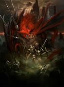 憤怒の胎動を宿す緋竜