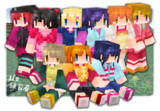 【Minecraft】μ's練習着スキン【ラブライブ!】