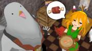 【MMD】しばらくはお夕食にお肉が出ません…。