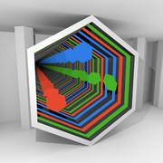 六角形の無限鏡