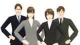 【MMDモデル配布】WEP式エキストラ(男女社員セット01)