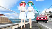 【MMD】お散歩