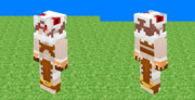 [Minecraft] 呪術師 女