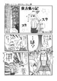 【東方裏々記】1P漫画1/4