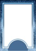 オリジナル タロットカード用 表面【銀色・青色・透過】